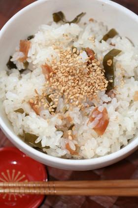 (塩)昆布が大活躍✿炊き込みご飯・おこわ