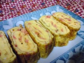 お弁当に✿エビチーの卵焼き✿