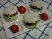 ランチやお弁当にも♪ミニライスバーガー♪の写真