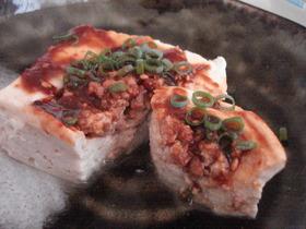 レンジでチン♪ヘルシーひき肉豆腐