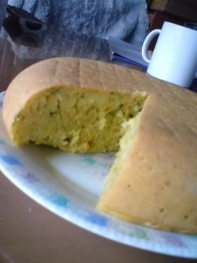 炊飯器で♪小松菜とにんじんのケーキ