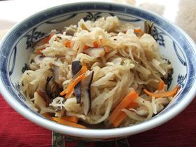 3種の常備菜パート1・切り干し大根の煮物