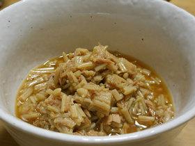 エノキとツナのサッと煮 お弁当のおかず
