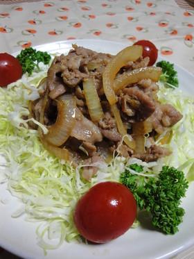 わが家の定番☆豚肉生姜焼き