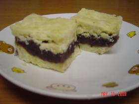 スイートポテト風の和菓子?