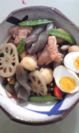 母の治部煮風煮物