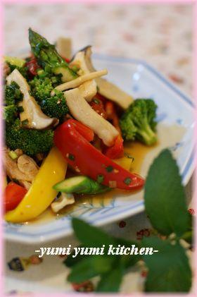 お野菜をたっぷり★鶏と野菜の彩り香り蒸し