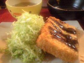 高野豆腐のヘルシー☆チーズカツ
