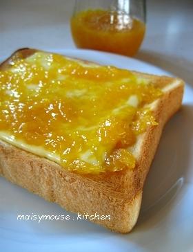 マーマレード&チーズのトースト