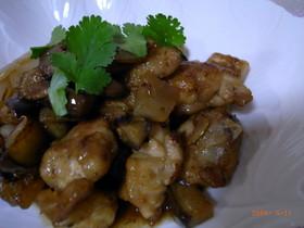 夏にぴったり、簡単♩鶏のさっぱり中華炒め