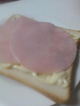 簡単朝ごはん☆チーズトースト☆