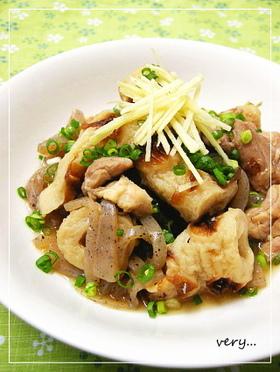クック膳★鶏とこんにゃく、竹輪の甘辛煮