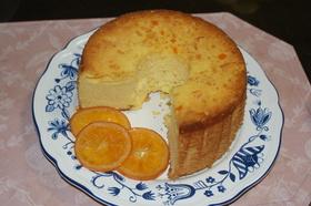オレンジのシフォンケーキ♪♪♪