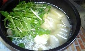 ☆あっさりと・・・鶏の水炊き☆