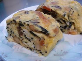 ひじきの煮物とチーズの❀卵焼き❀