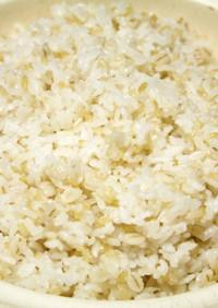 土鍋de玄米&雑穀ごはん