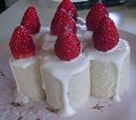 苺のキャンドルケーキ♥+*