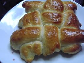 格子模様!?お好きな生地でパン