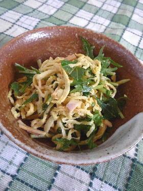 切り干し大根のカレーうどん風味サラダ