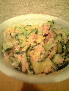 ツナときゅうりサラダ