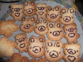 簡単☆サクサク 型抜きクッキー