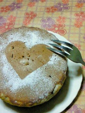 ラムレーズン珈琲ホットケーキ