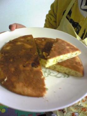 簡単バナナケーキwithフライパン