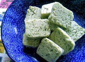 茶殻と出汁殻の米粉クッキー