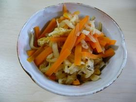 めんつゆで切干大根の煮物