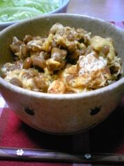 納豆タマゴ丼の写真