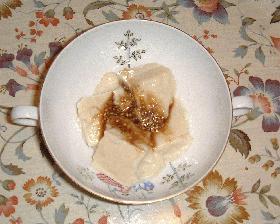プリプリの呉豆腐 (長崎の郷土料理)