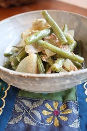 ハンパな野菜のシーチキンで煮物