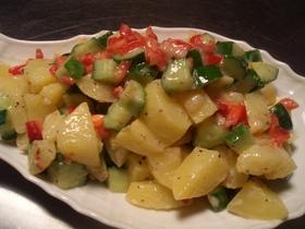 ジャガイモきゅうりのマヨ和えサラダ
