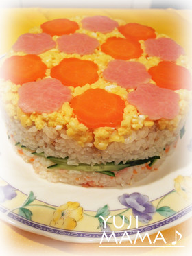 ◆おもてなし★パーティ★ケーキ押し寿司◆