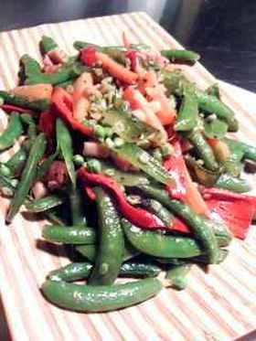 バルサミコ風味の野菜炒め