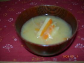 カレー風味のお味噌汁