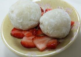 団子の粉で簡単で美味しい大福!!