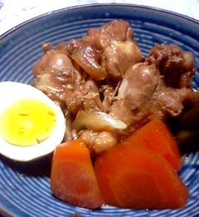 カムカム酢で作る鶏のさっぱり煮