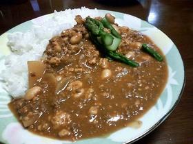 豆腐と大根のカレー