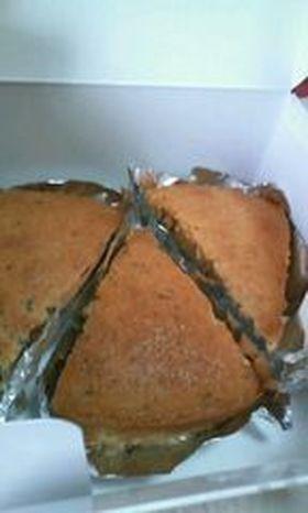 紅茶のケーキ