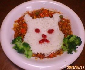 挽肉とお豆腐のトマトカレー