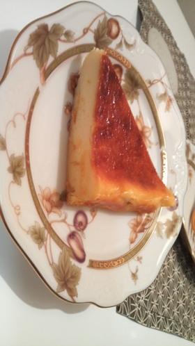 艶々〜!しっとりベークドチーズケーキ