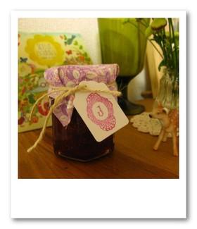 バニラ香るいちごのコンフィチュール