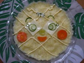 メロンパンナちゃんのポテトサラダ♪