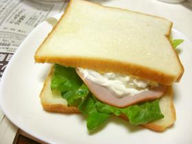カッテージチーズ風サンドイッチ