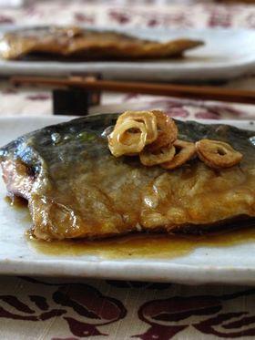 鯖の蒲焼 にんにく風味