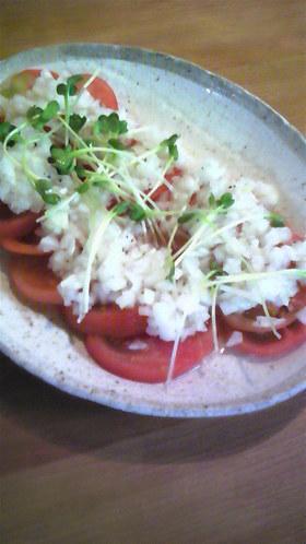 新たまねぎドレッシングで☆トマトサラダ
