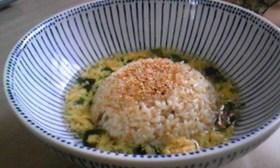 カレーチャーハンのスープ飯
