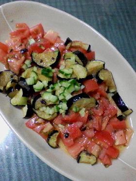 夏野菜DEカルパッチョサラダ