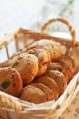 香ばしい*サクサクきな粉クッキー